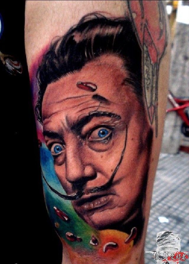 外国大师纹身分享展示图片