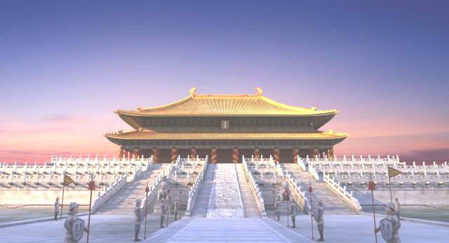 元朝皇宫与唐朝皇宫比较图片