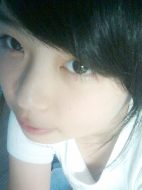 发型设计 14岁空气刘海的女生图 > 14岁方脸女生长发发型图片  14岁方图片