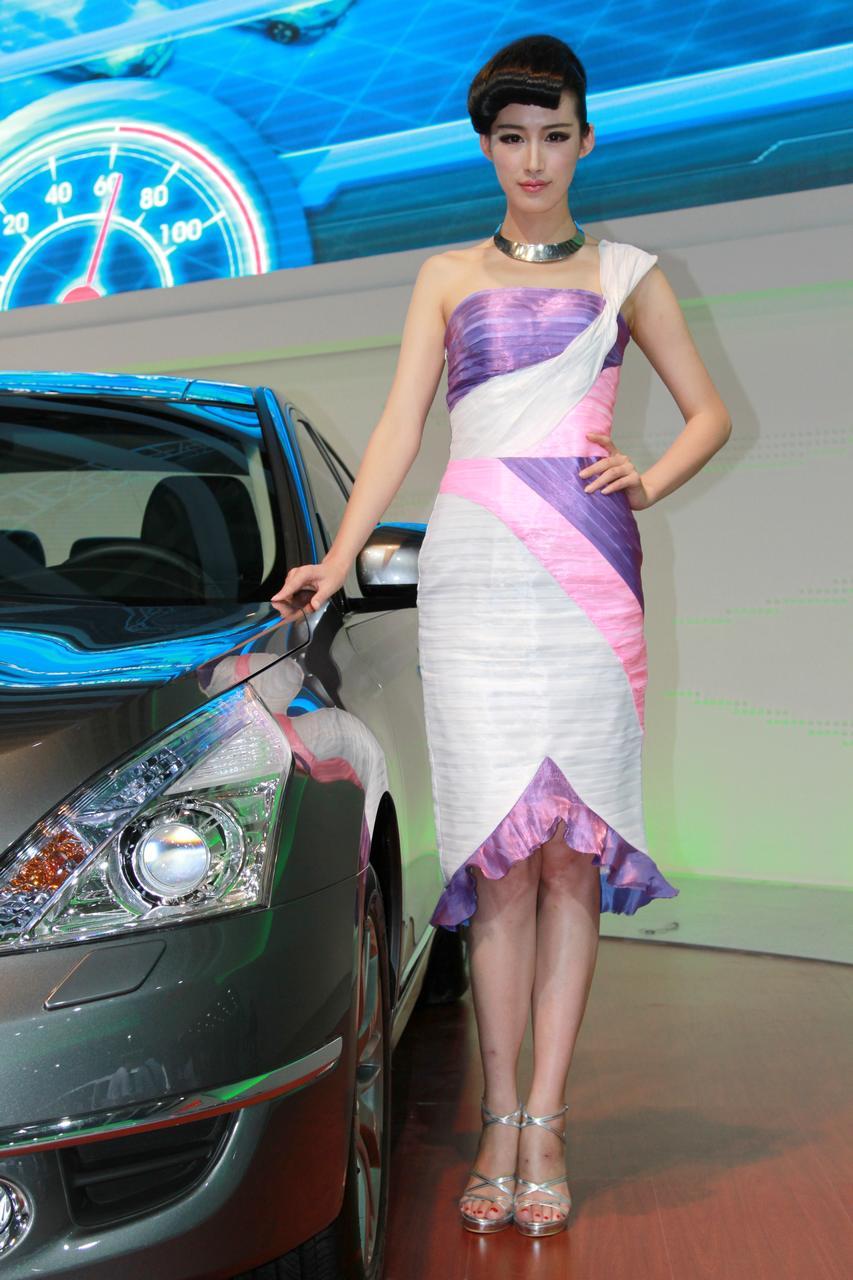 美女车模长春国际车展