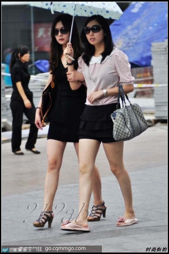 重庆美女街拍图片