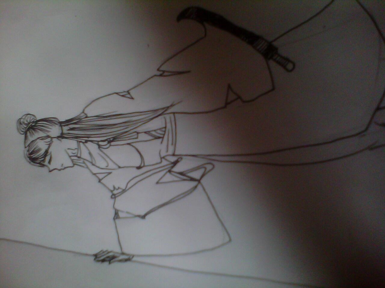 【手绘】古男 女图片