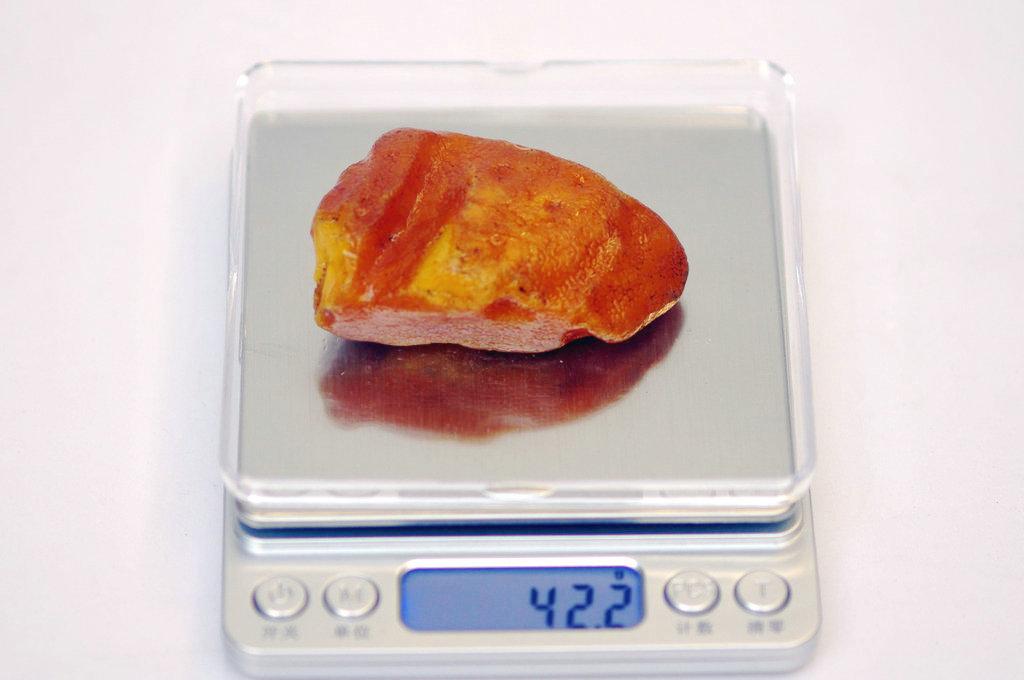 波罗的海原石原皮蜜蜡42.2克 蜜蜡买卖吧 百度贴吧 高清图片