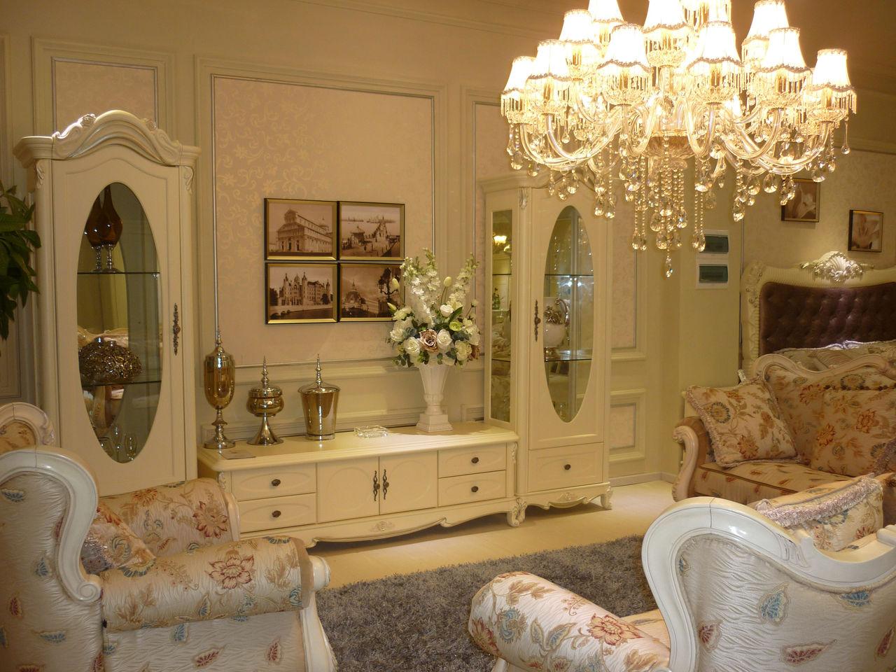 唯美丽莎 法式玫瑰系列套房家具图片