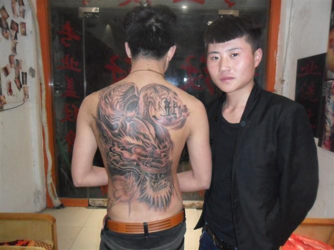 纹身图案哪吒图片展示图片