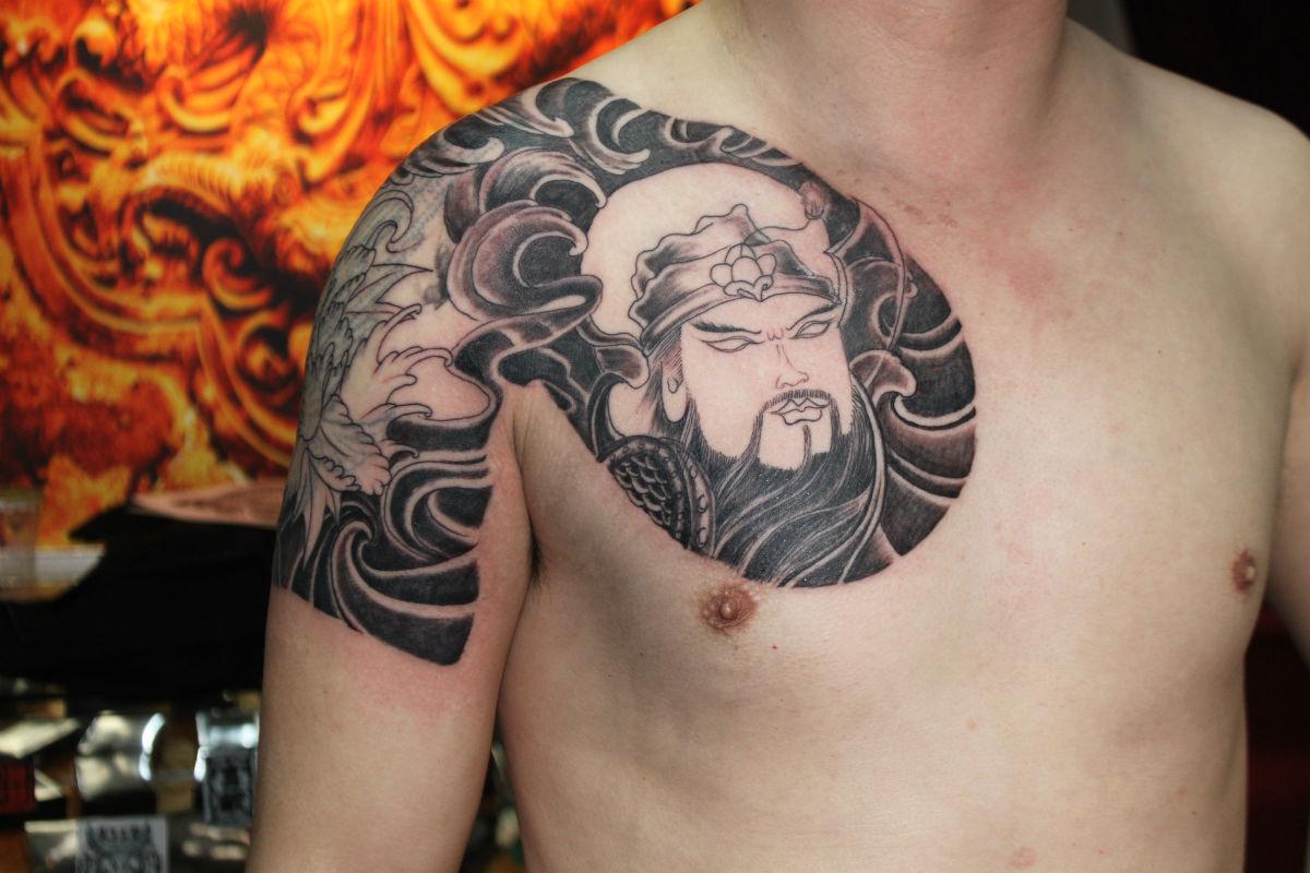 宁波纹身-龙影纹身2012的纹身作品 (1200x800)图片