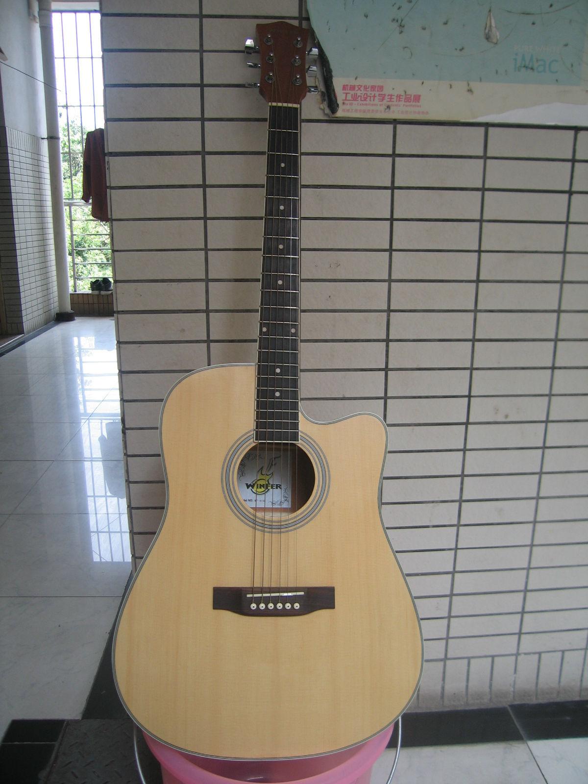 入门吉他求鉴定,大概多少钱 高清图片