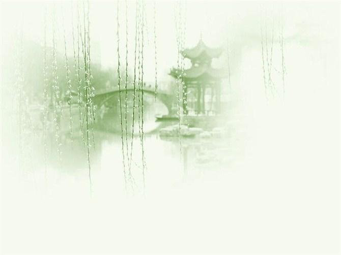 【古风素材】之ppt古风背景图图片