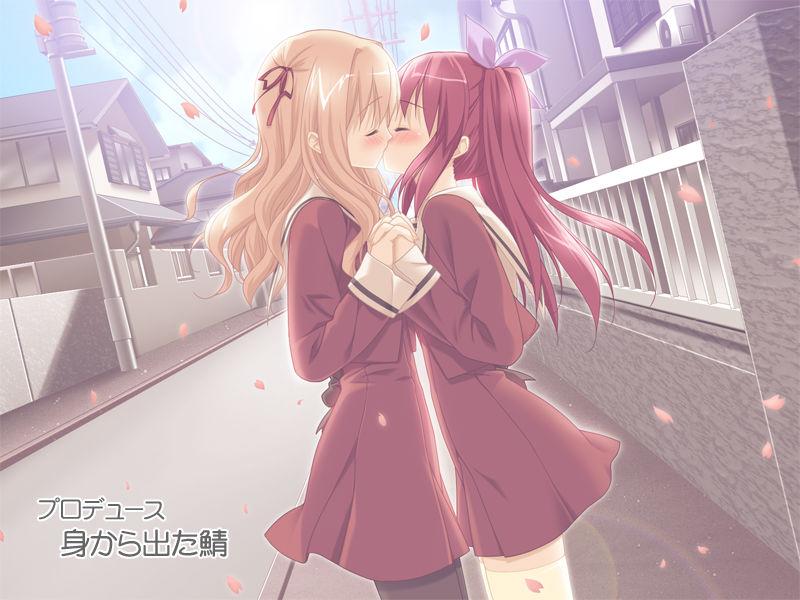 百合动漫吧   花吻在上漫画百合图   花吻在上gl动图   游戏