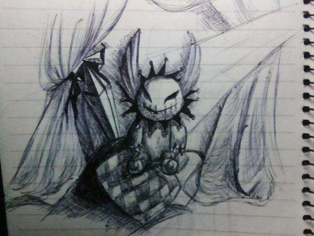 简易动漫人物铅笔画图片大全 提交 是用铅笔画的 所以
