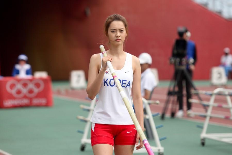 韩国撑杆跳最美女运动员