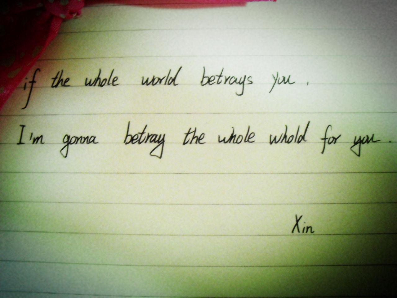 纯英手写°你是我的.我是你的