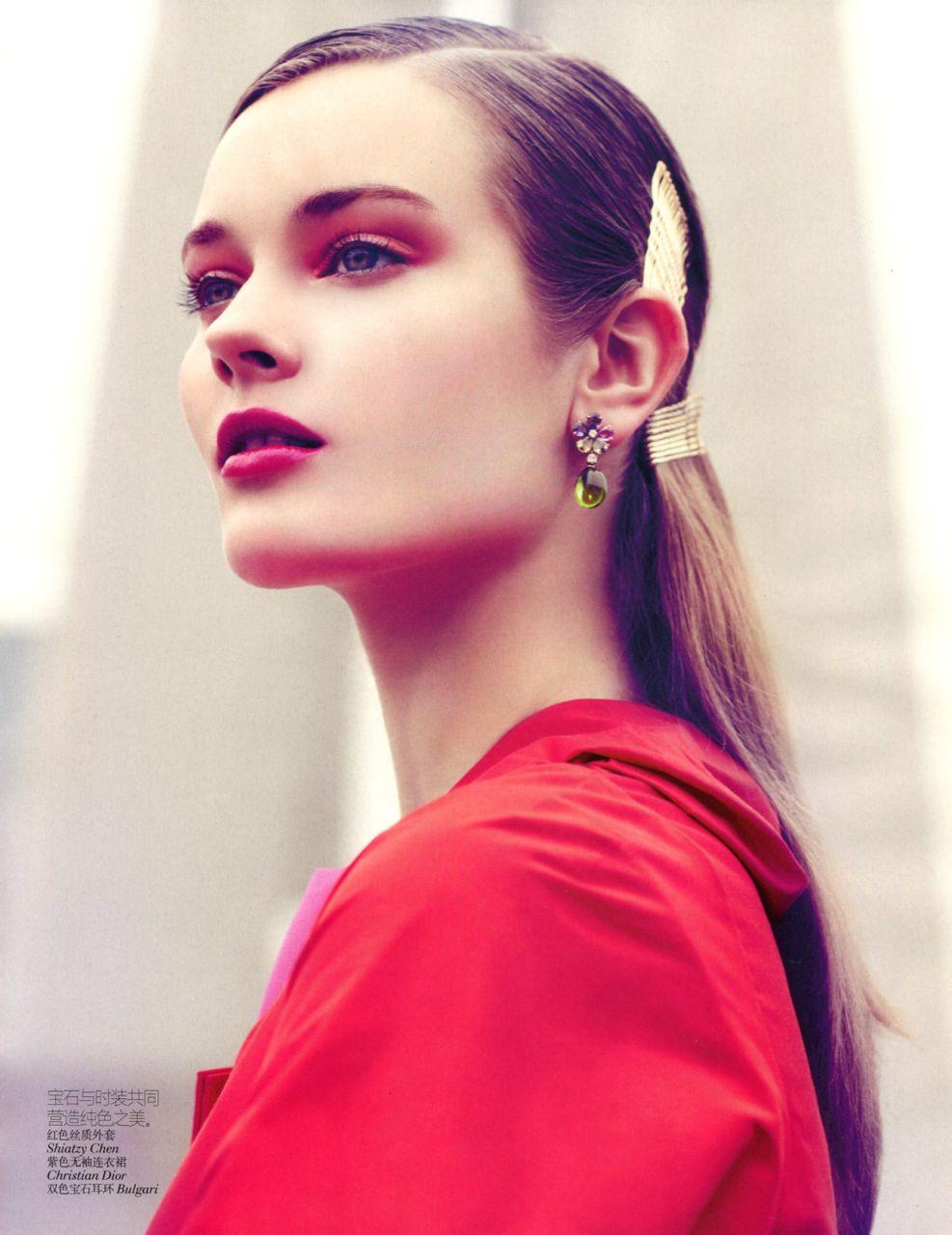 2012年8月杂志图楼 欧美模特吧