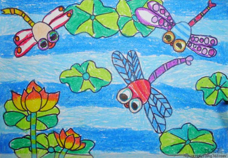 森林防火幼儿绘画分享展示图片
