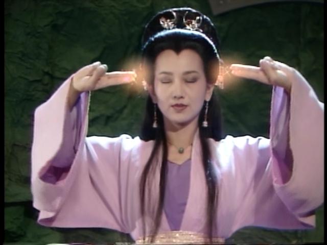赵雅芝版白娘子发型分享展示图片