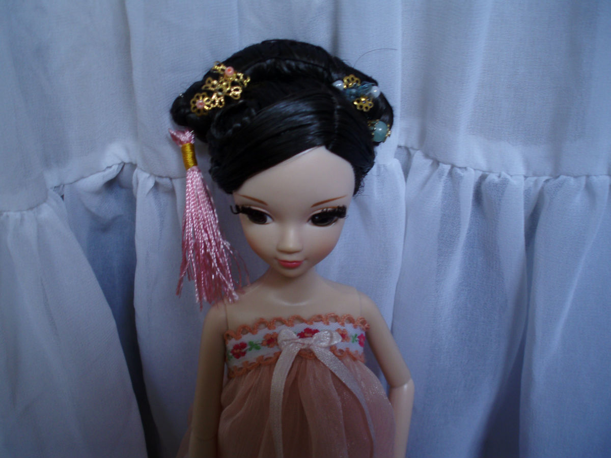 可儿娃娃古代发型教程分享展示图片
