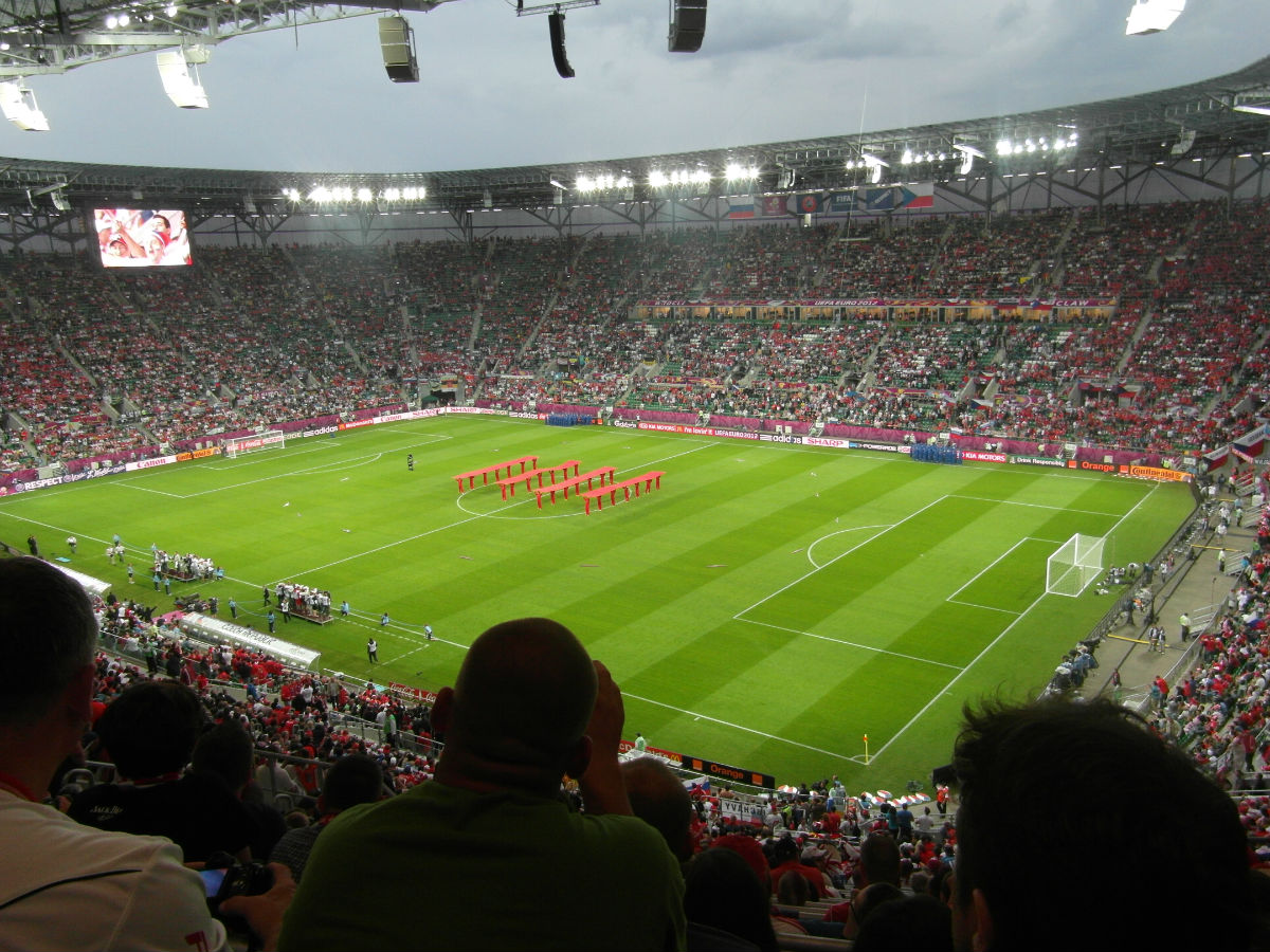 欧洲杯现场捷克v俄罗斯——切赫