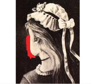 你看见的是巫婆的脸还是少女的脸?
