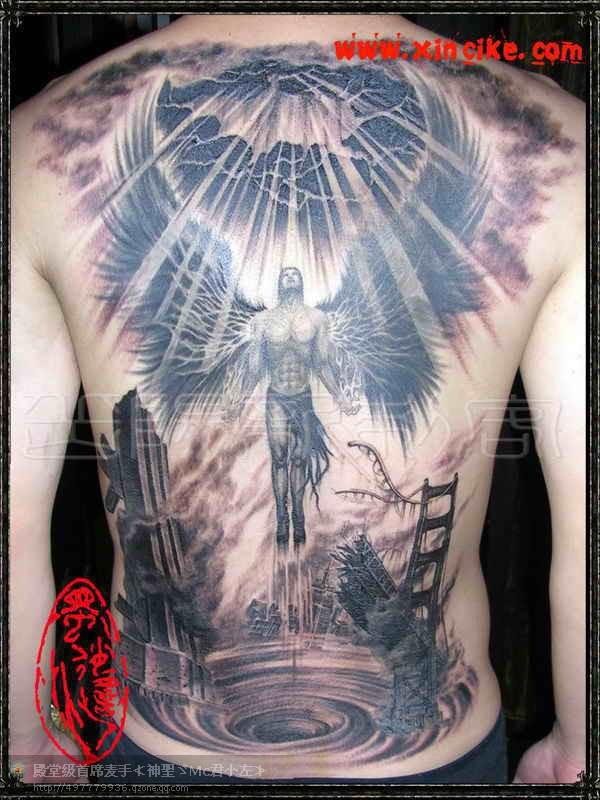 男生_赵子龙纹身图案_满背天使纹身图案大全 天使胸前纹身图案大全图片