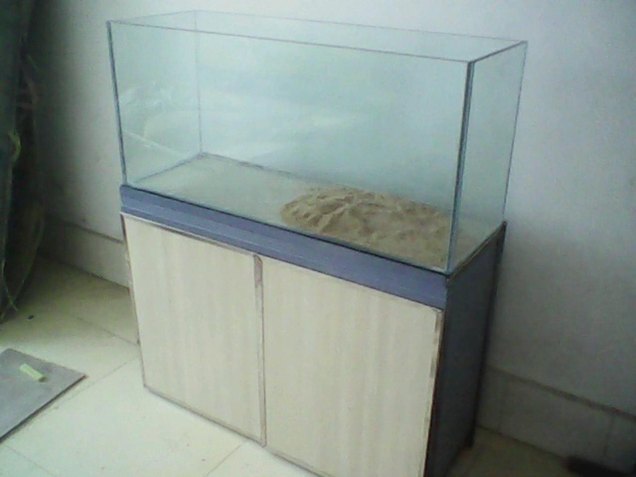 diy鱼缸底柜过程图片