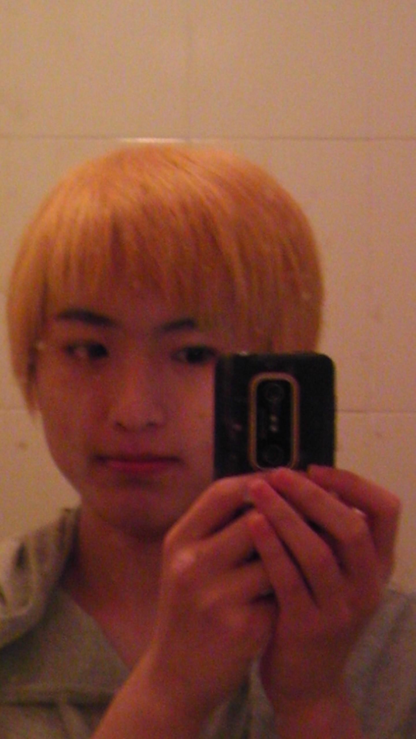 头发被剪掉了……tat……&图片