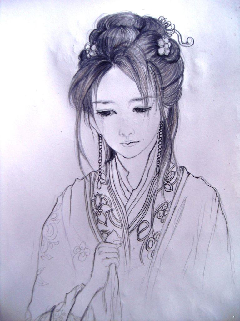 【古代美女手绘图】珍藏版很美的图片!看看吧!图片