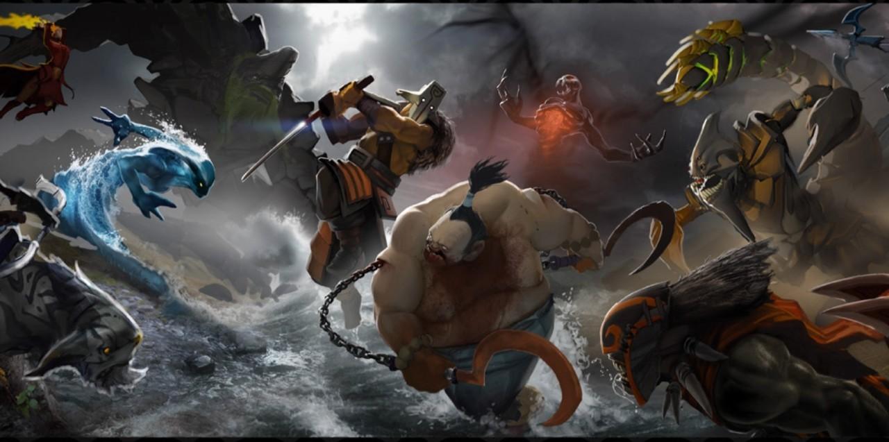 dota2新英雄灰烬之灵与大地