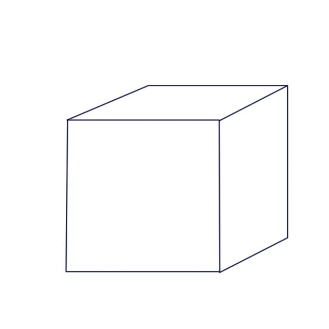 正方体怎么做图片