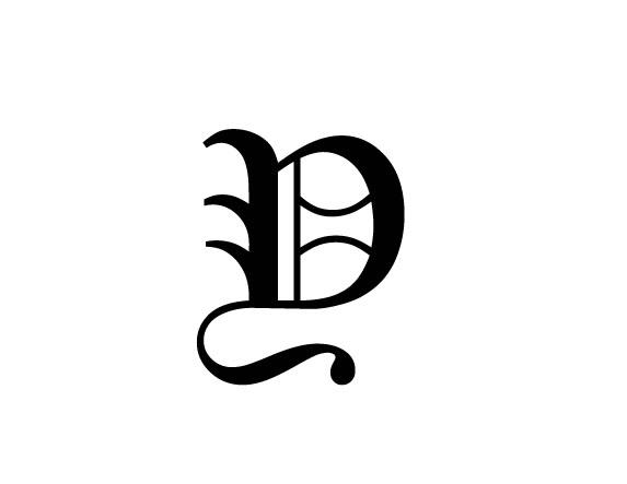 _y字母与死亡笔记里的l同字体的图片