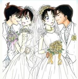 新兰结婚照