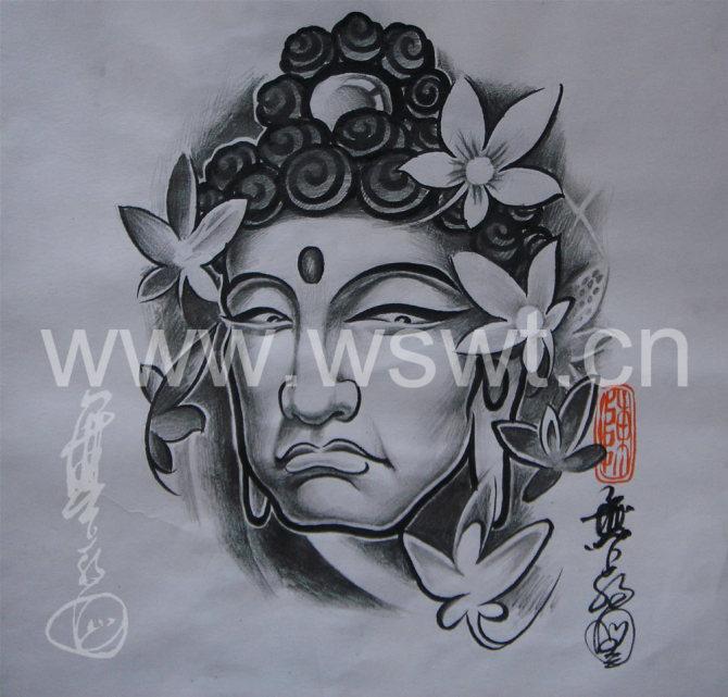 台州纹身--《无上纹图》★[手稿]图片