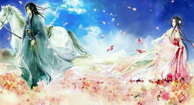【古风】自古美男美女多白衣图片