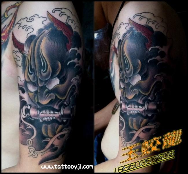 班诺鲤鱼纹身_班诺花臂纹身手稿_班诺和艺妓纹身图片图片