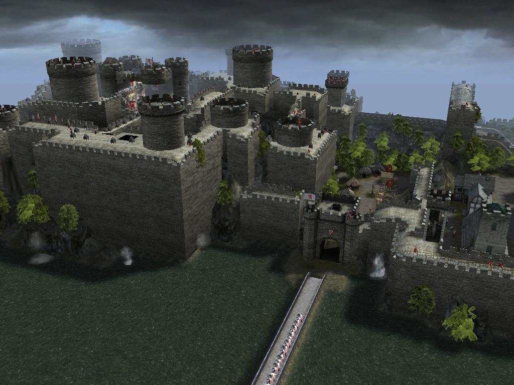 yy出品,真城堡系列之桥堡.. 高清图片