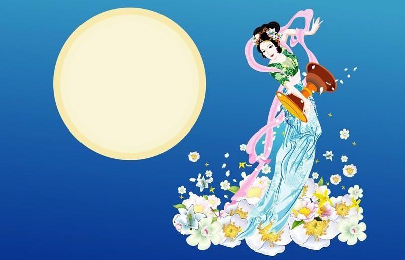 关于中秋节的七个经典 神话 故事!你不一定知道的   中秋的高清图片