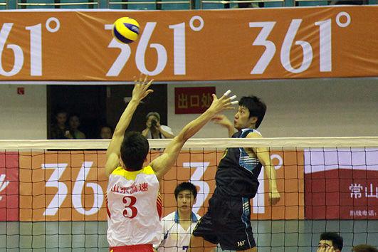 2011年361 第八届全国男排大奖赛浙江赛区比赛昨在常山揭幕