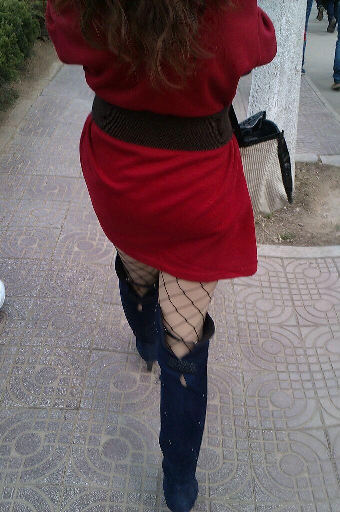 文理美女网袜街拍