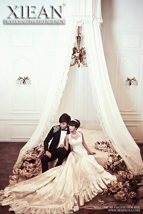 【谢安视觉】宫廷欧式婚纱摄影全攻略图片