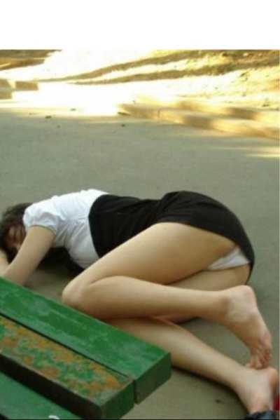 路边美女晕倒……我是否伸出援助