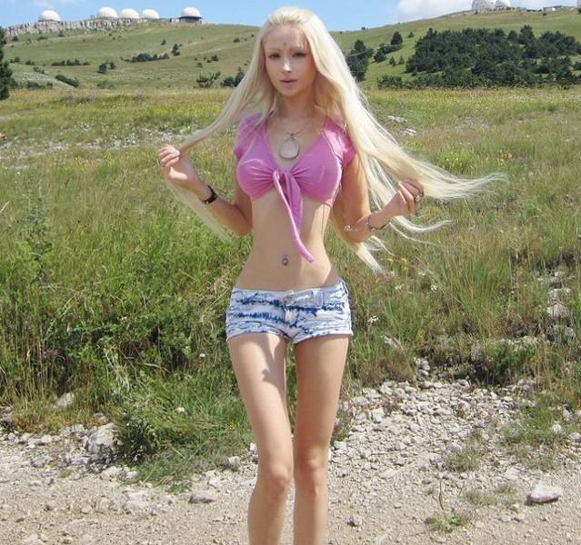 乌克兰芭比娃娃美女爆红网络真人