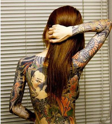 】――日本美艳刺青美女大盘点