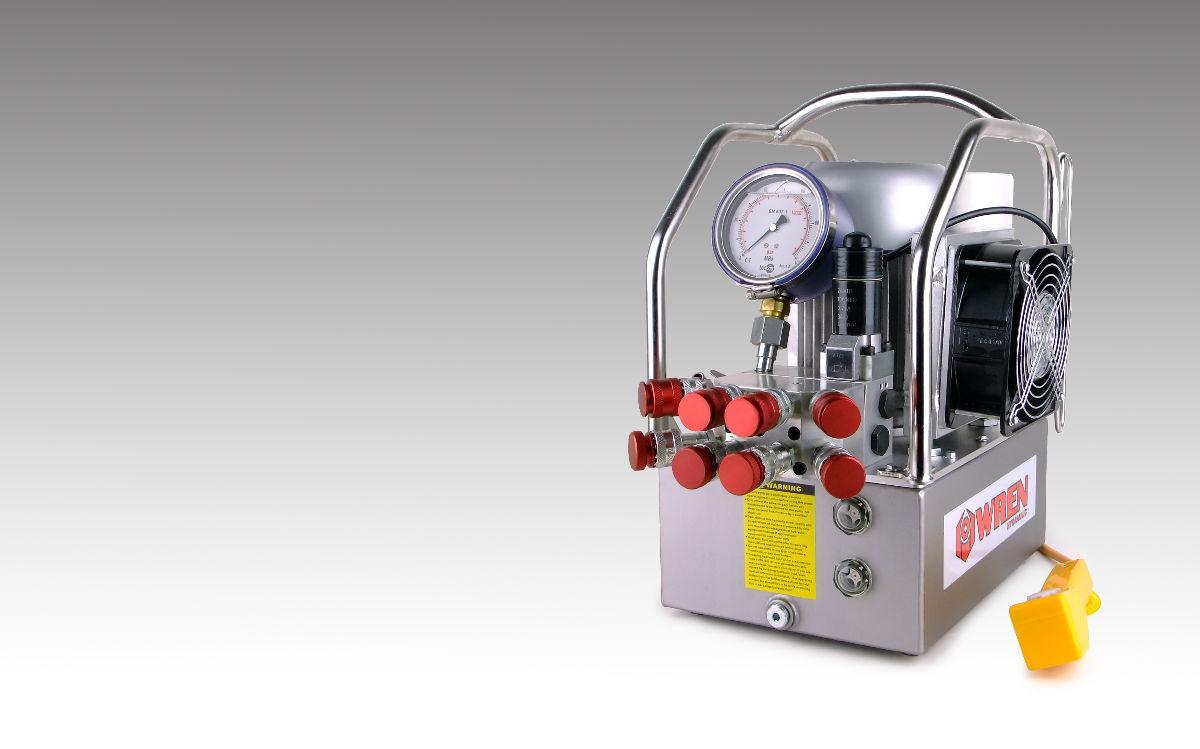 多出口超高压液压便携泵站——杭州雷恩液压设备制造图片