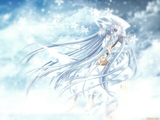 守护甜心之雪花飘舞 雪花飘舞的图片 关于雪花飘舞的图片图片
