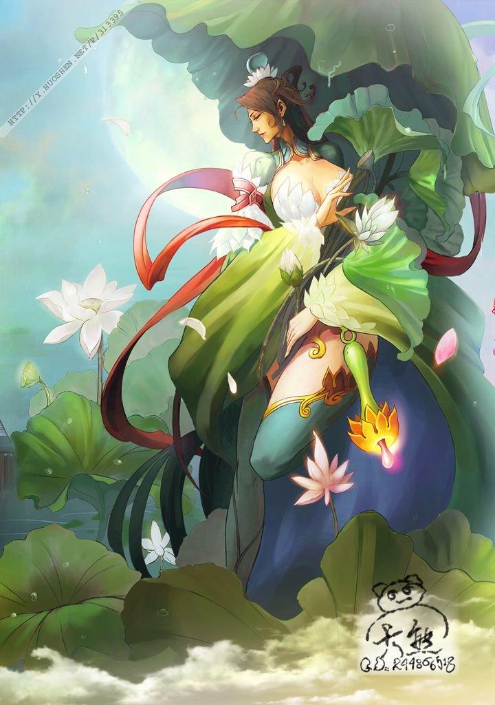 一些中国的神话人物 转自(中国神话)图片