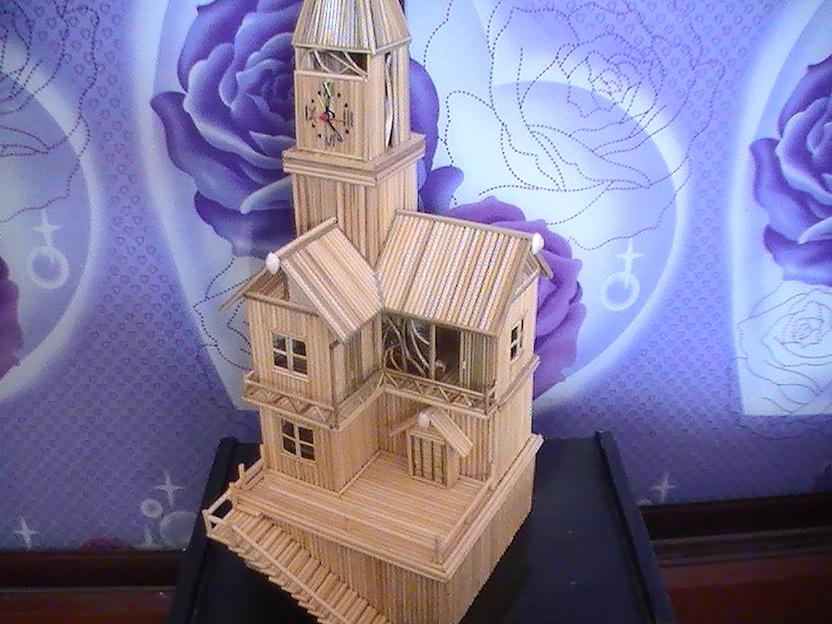 ... 投石机设计图 筷子诸葛连弩设计图 筷子房子设计图