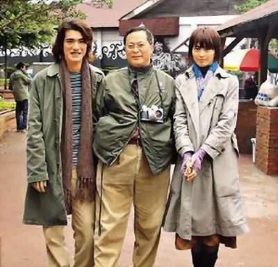 金城武和古天乐,谁高?图片