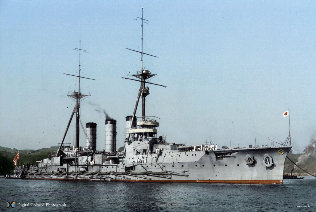 【图片】日本海军装甲巡洋舰