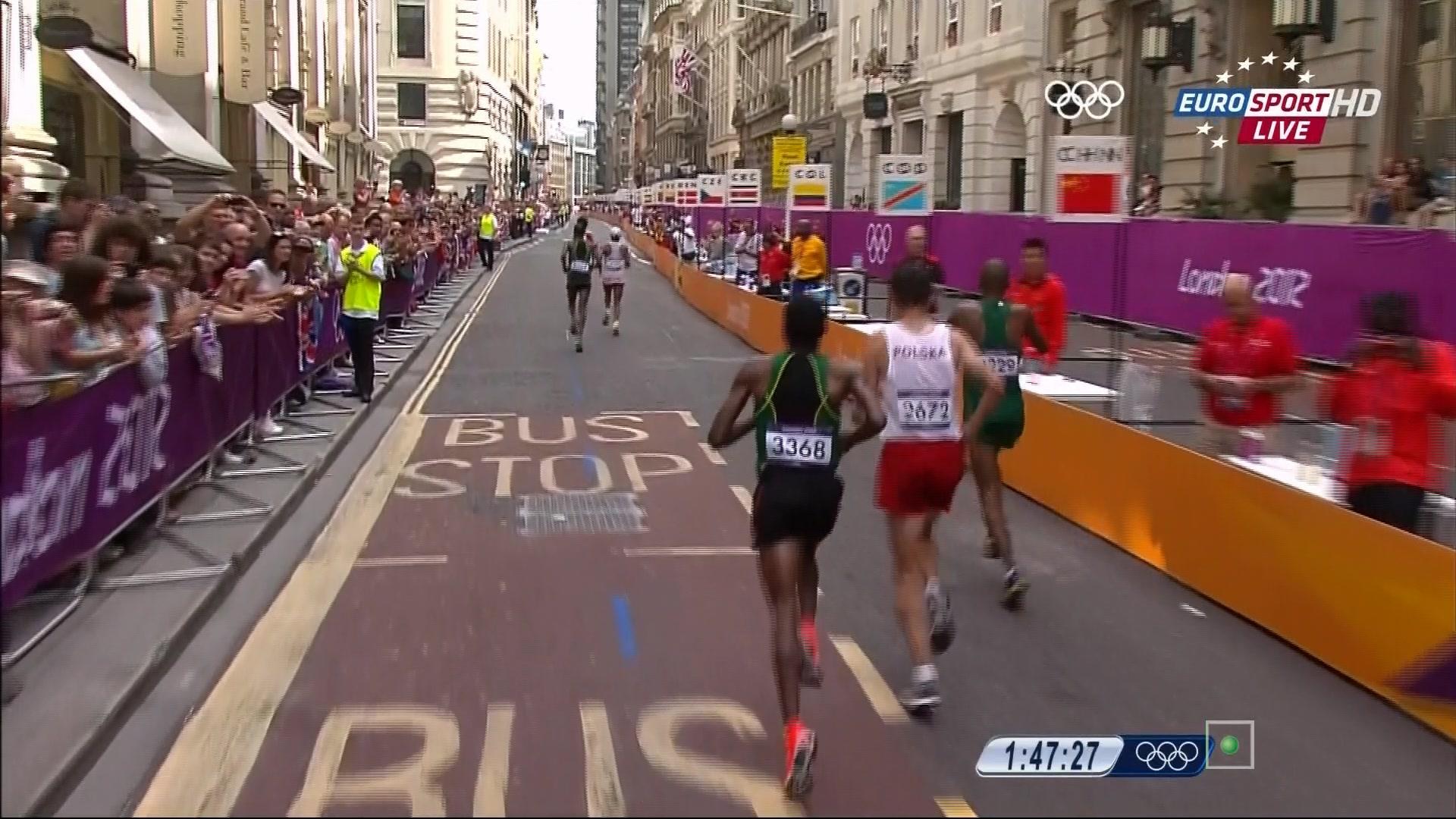 伦敦奥运会马拉松的高清种子图片