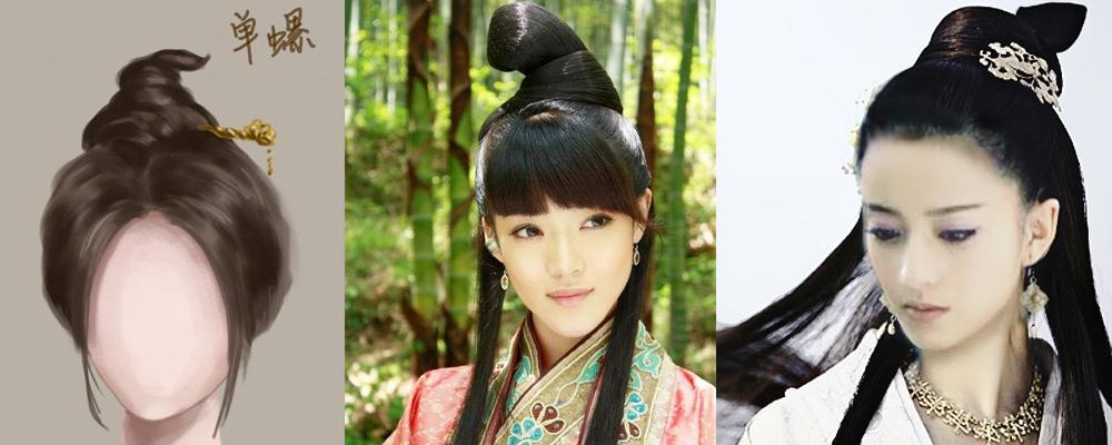 【古典风韵】古代女子发型集(借鉴之前的帖子)图片