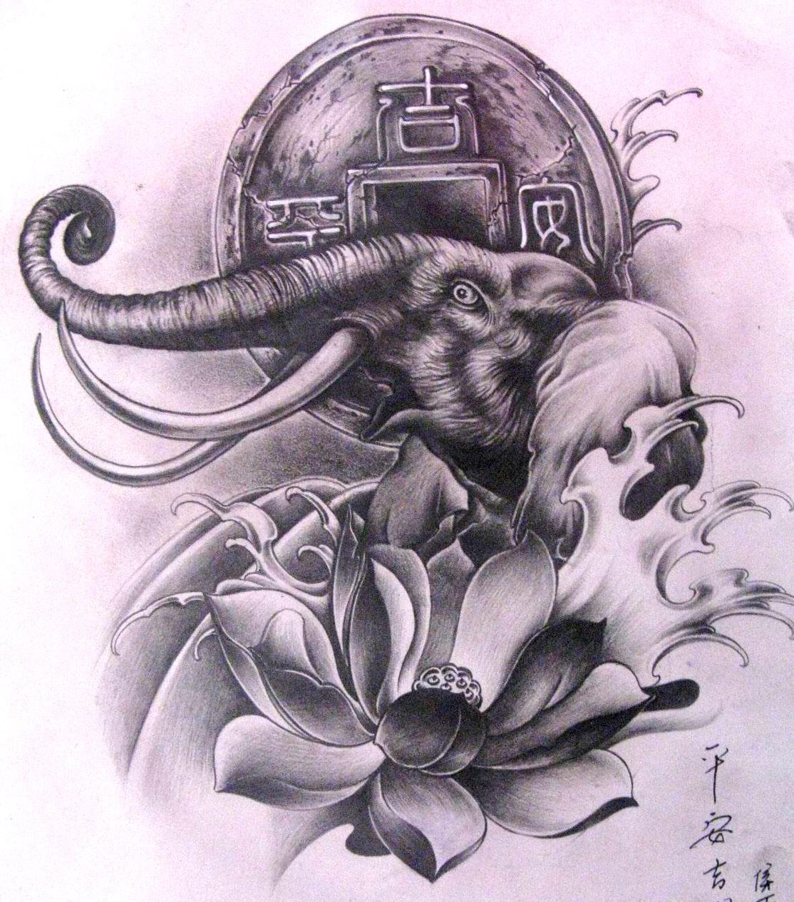 【重庆纹身吧】-----大象小样要的拿去幼儿园室内设计素材图片